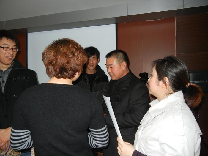 齐英杰大师应邀对上海大众员工进行国学培训